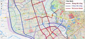 Quy hoạch đường vành đai 1, 2, 3 & 2.5 Hà Nội 4