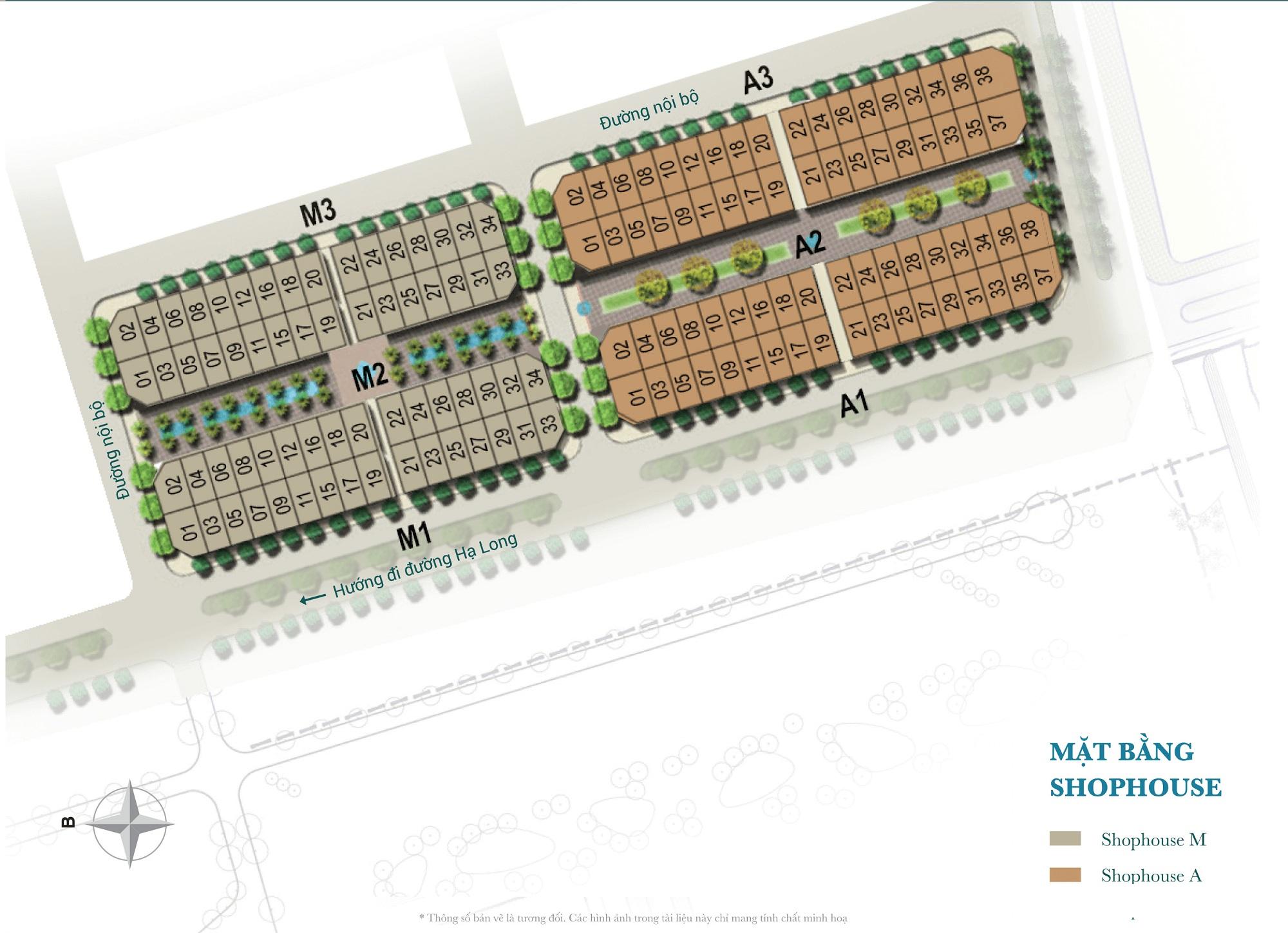 Mặt bằng điển hình phân khu Morocco và Australia dự án Sun Plaza Grand World