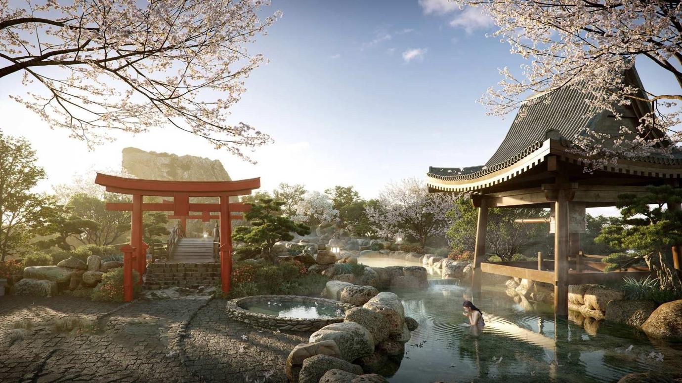 Đại gia địa ốc Nhật Bản đầu tư vào Ecopark, triển khai siêu dự án khoáng nóng - 3