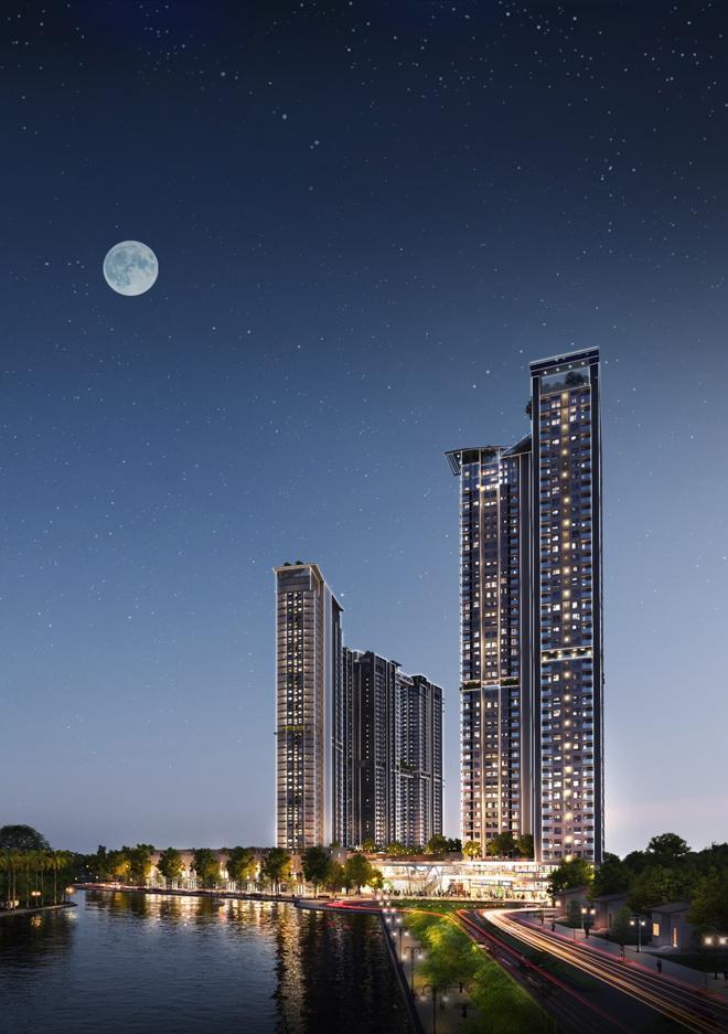 Triển khai toà tháp căn hộ 5 sao S- Premium tại Ecopark với cầu pha lê trên độ cao 200m